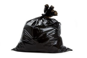 Green Tip of the Week – Don't Use Black Garbage Bags