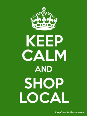 Green Tip of the Week – Shop Local!
